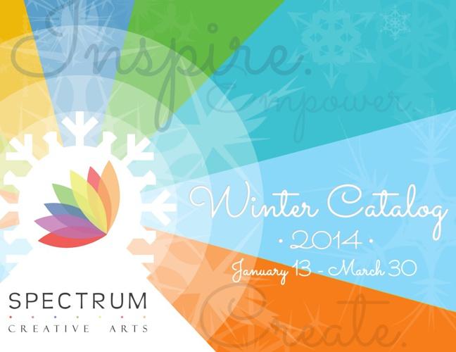 Spectrum Creative Arts 2014 Winter Catalog