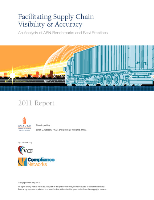 Facilitating Supply Chain Visibility & Accuracy