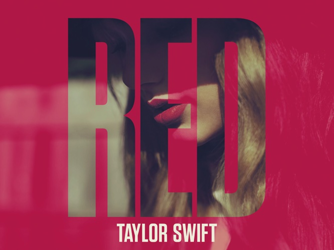 DIGITAL BOOKLET RED-TAYLOR SWIFT