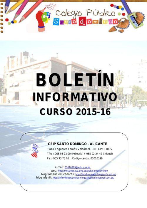 BOLETIN PRINCIPIO DE CURSO 2015-16 definitivo