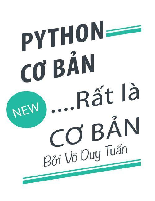 Python rat la co ban - Vo Duy Tuan