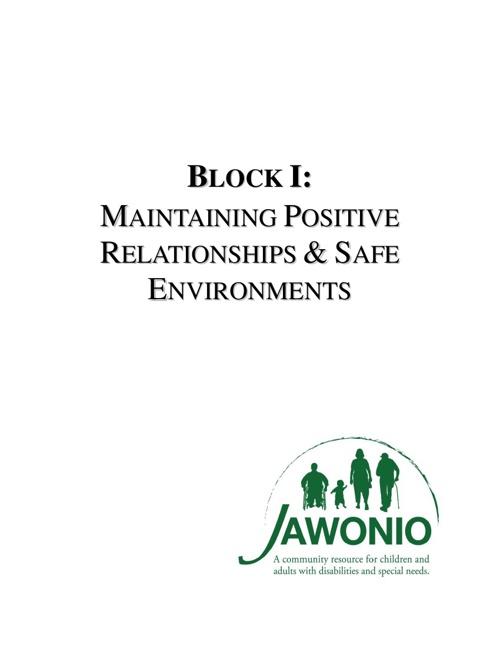 Block I Book