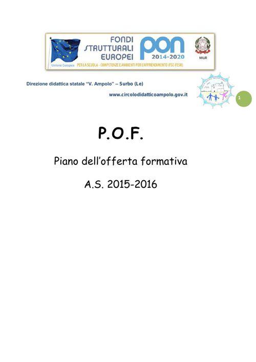 POF 2015-16 Seconda parte