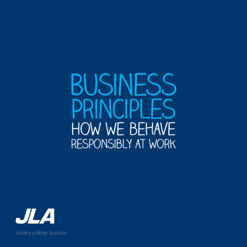 Business Principles - How we behave responsibly at work