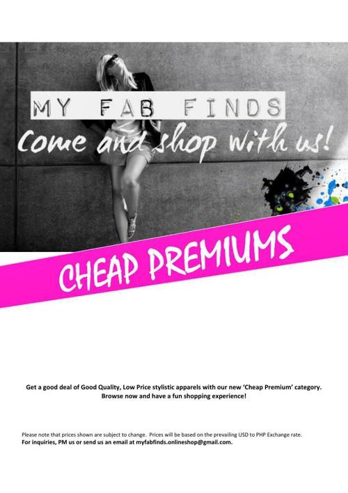 Cheap Premiums Women's Apparels