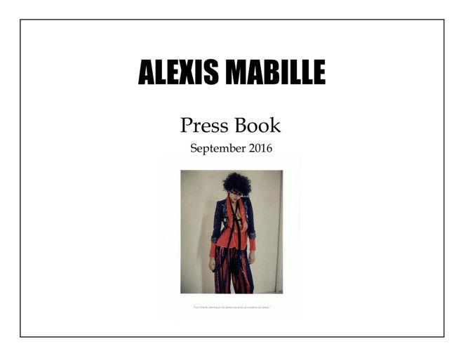 PRESS BOOK September