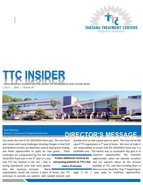 TTC Insider - July 2014