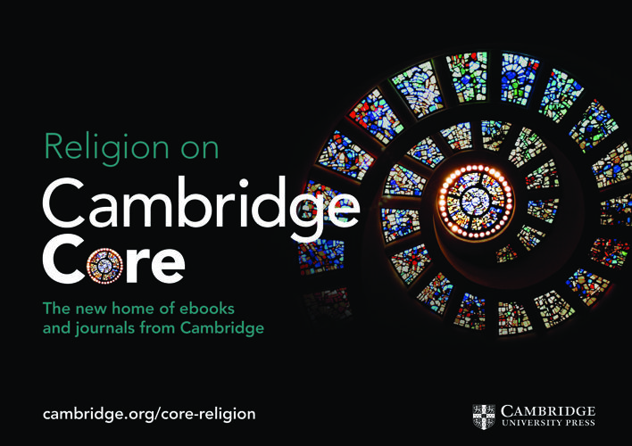 Cambridge Core Religion flyer 2017