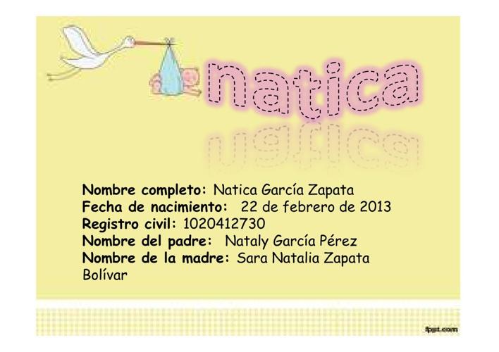 Natica Garcia Zapata