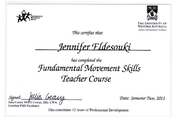 PD Certificates