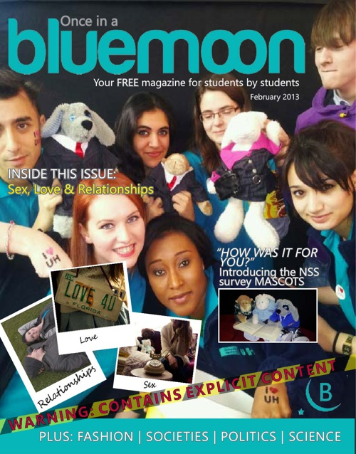 BlueMoon 2012-2013, Issue 3.