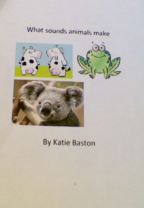What Sounds Animals Make by Katie
