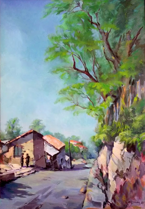 Пейзажи и натюрморты