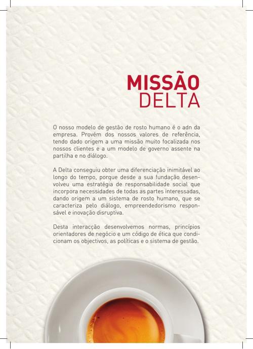 Delta Cafés - Catalogo Pontos