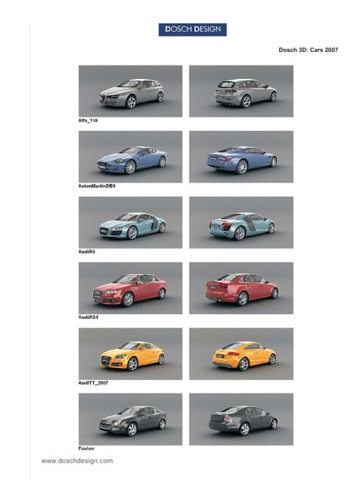 24_DOSCH 3D - Cars 2007