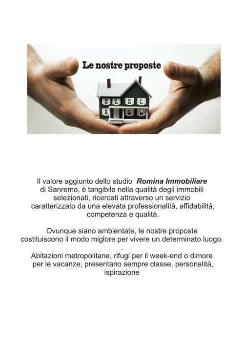 Romina Immobiliare Sanremo