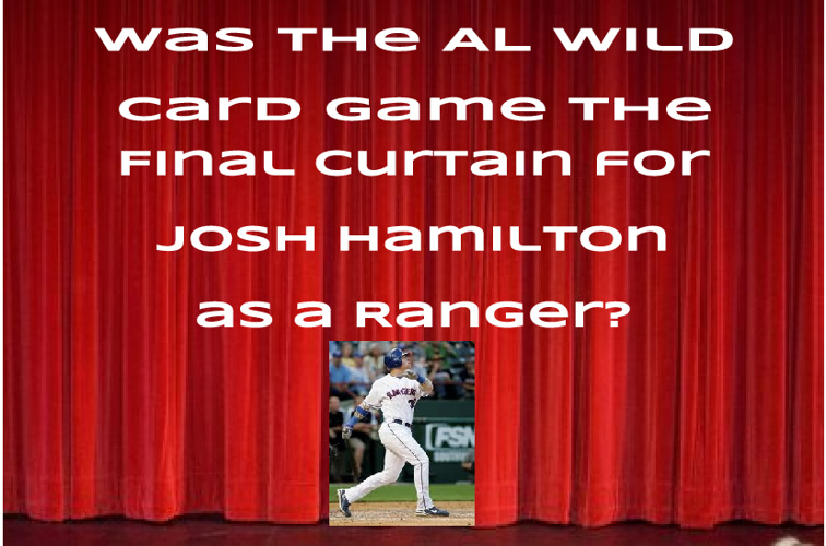 Who will Josh Hamilton sign with?