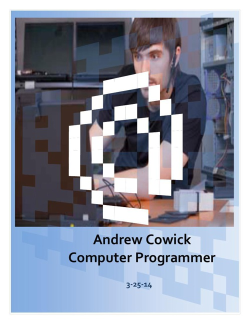 Andrew Cowick_Career Outlook Project