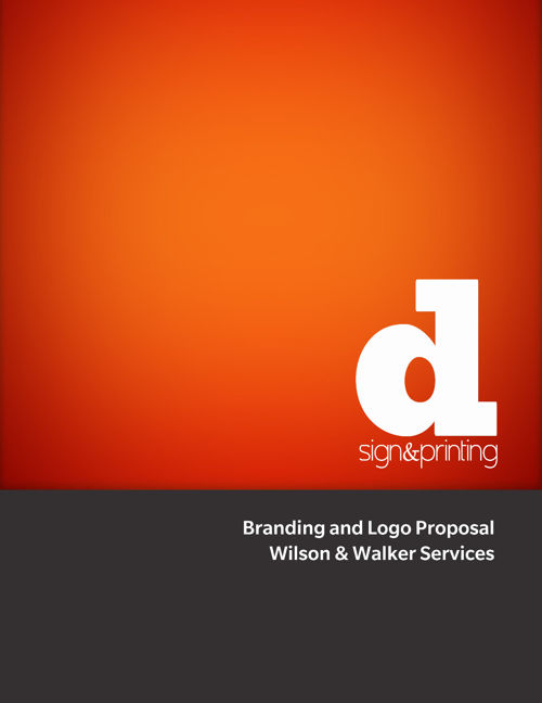 Branding Presentation for Wilson & Walker Services