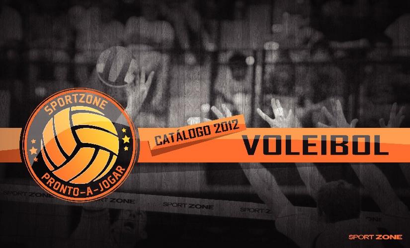 Catalogo Volley 2012 // Sport Zone // Pronto A Jogar