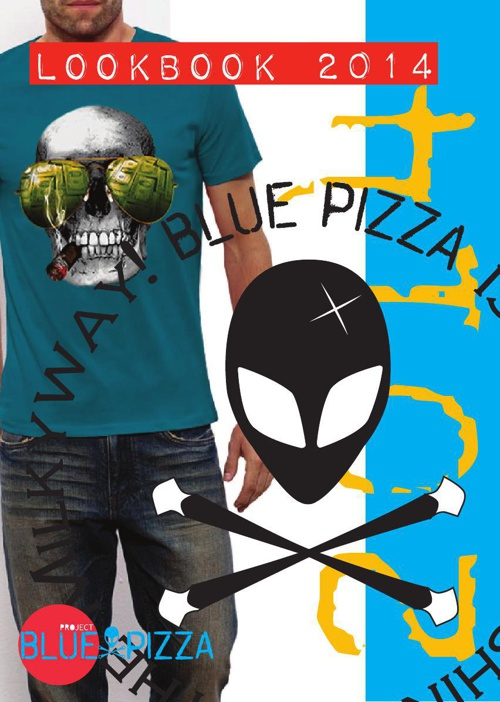 BLUE PIZZA LOOKBOOK 2014