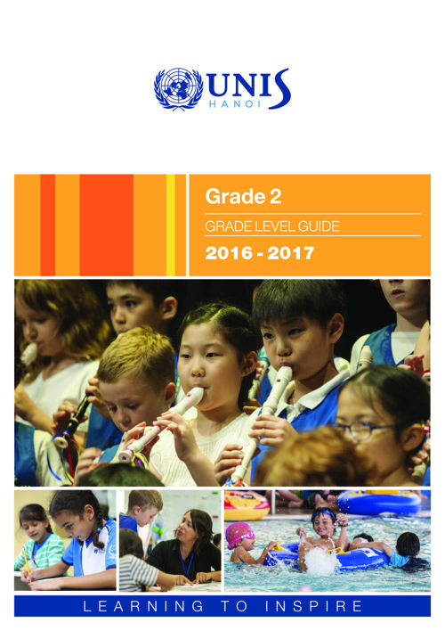 UNIS Hanoi Grade 2 Grade Level Guide 2016-2017