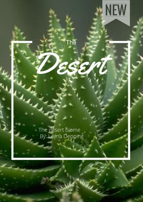 Desert Biome By: Layna