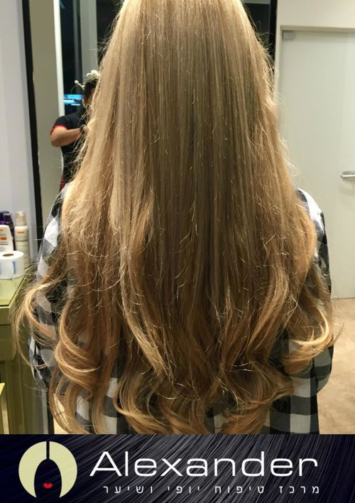 סלון אלכסנדר - המומחים בתוספות שיער