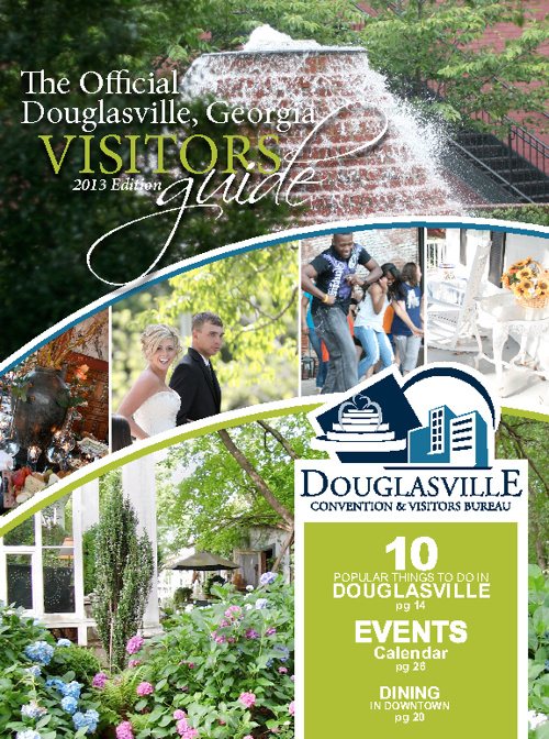 Douglasville Official Visitors Guide 2013