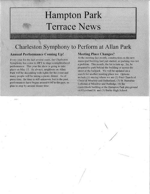 HPT Newsletter April-2 2003