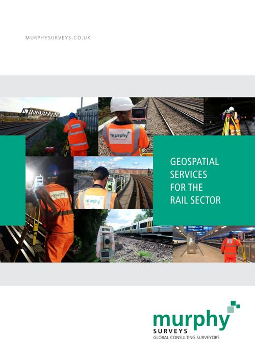 Murphy Surveys Geospatial Services for the Rail Sector