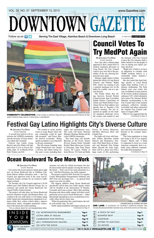 Downtown Gazette  |  September 13, 2013