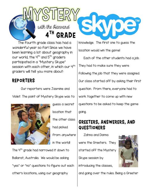 Mystery Skype Followup