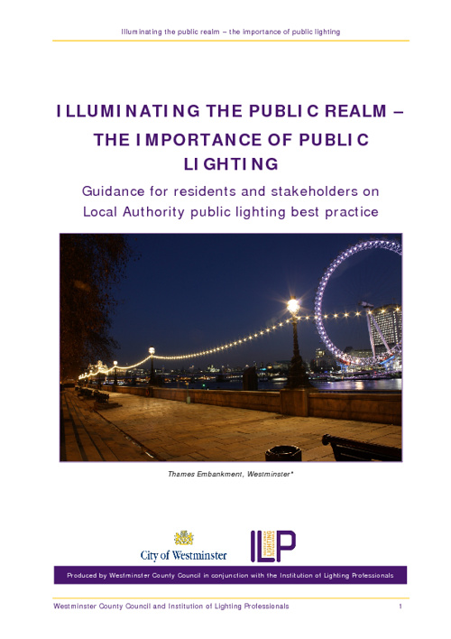 Illuminating the Public Realm
