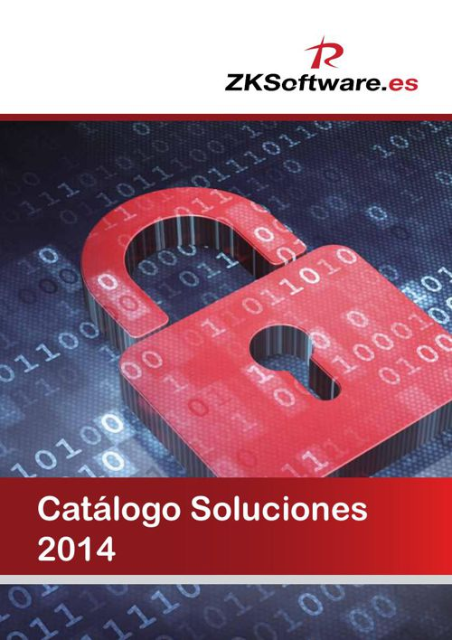 CATALOGO 2014 ZK SOFTWARE