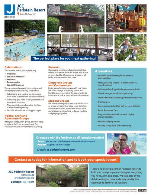 JCC Perlstein Resort Rentals