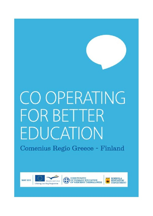 Comenius regio Greece-Finland