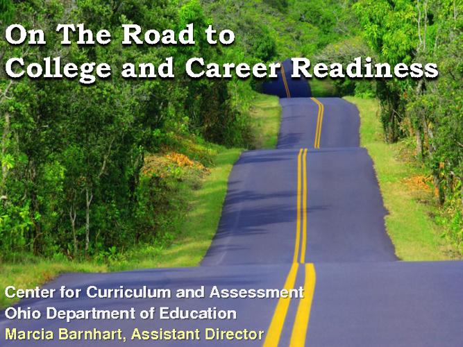 Copy of ODE CCSS Overview PDF
