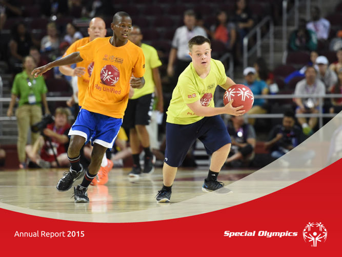 2015 Special Olympics Annual Report