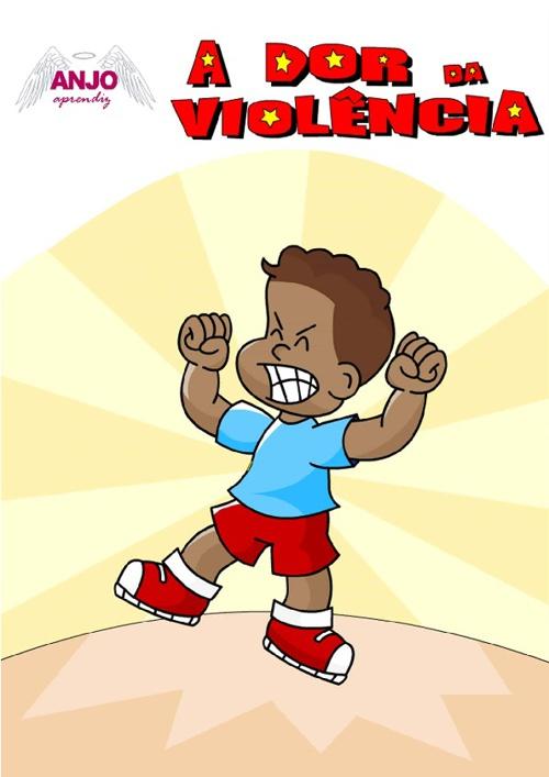 Revista em Quadrinhos - Edição Nº 4 - A Dor da Violência