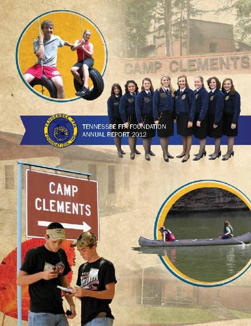 2012 Tennessee FFA Annual Report