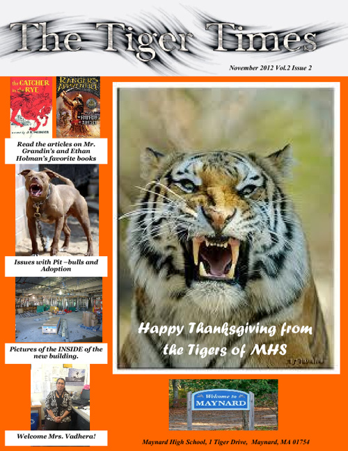 The Tiger Times - November Edition