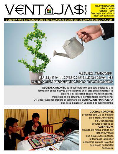 Ventajas: Emprendedores de Bolivia º9
