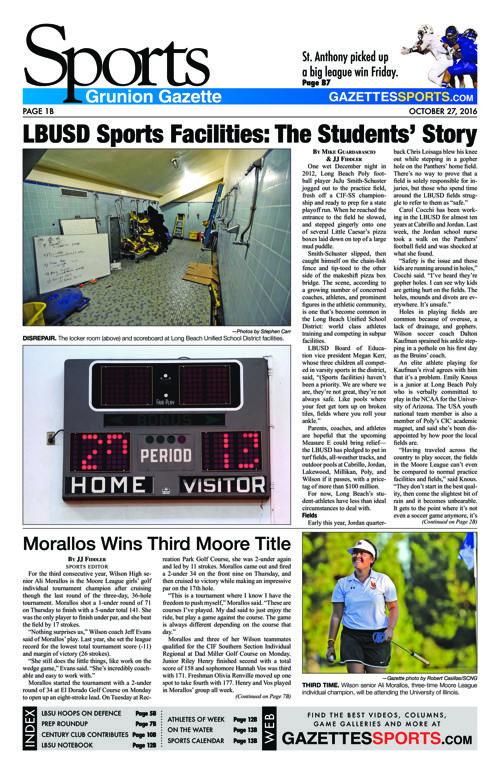 Gazette Sports | October 27, 2016