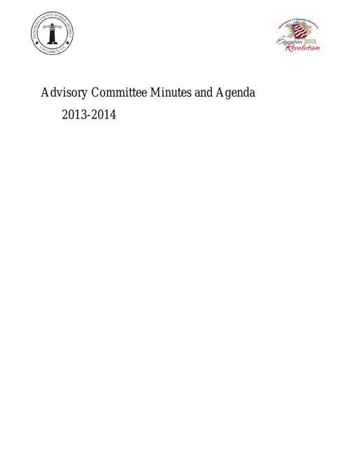 Advisory Meeting 2013-2014
