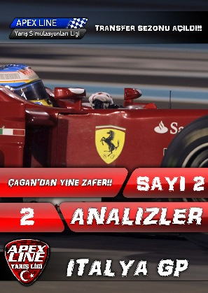 2011 Apexline F1 Sezonu Dergisi 2. Sayı