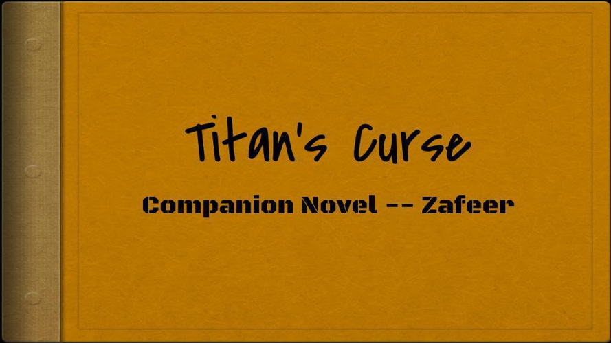 Companion Novel for Titan's Curse