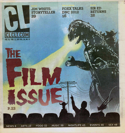 Creative Loafing Profile in 2011 Film Issue