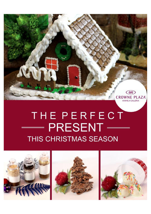 Crowne Plaza Manila Galleria's Christmas Collection 2016