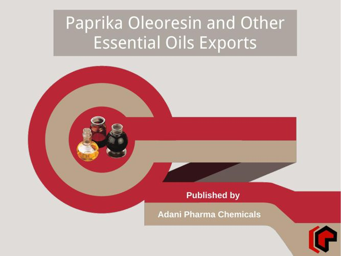 Oleoresin paprika and other essential oils export business